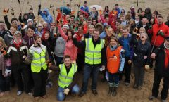 M and S beach clean up photo P Holden